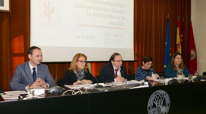 Estudio analiza las intenciones emprendedoras de los universitarios murcianos