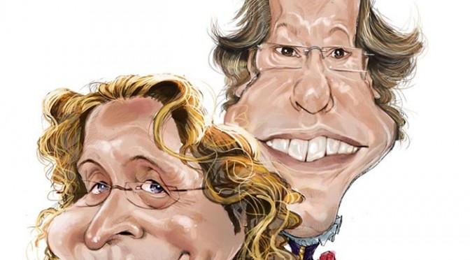 El caricaturista Jaime Pandelet participa en el ciclo de cómics de la Universidad de Murcia