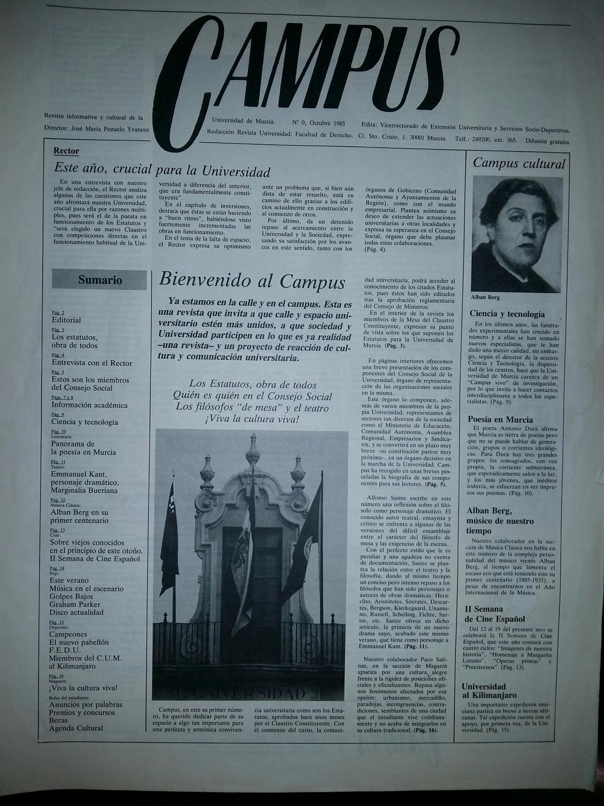 revista campus 0