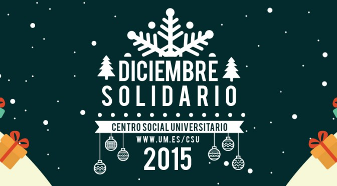 Diciembre solidario en la Universidad de Murcia