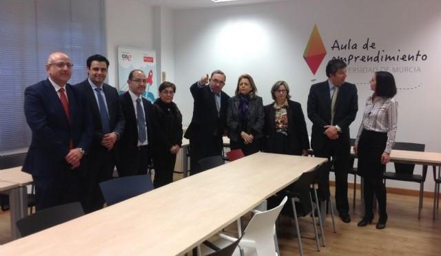 La Universidad de Murcia apoya las ideas de negocio de sus estudiantes con el Aula de Emprendimiento