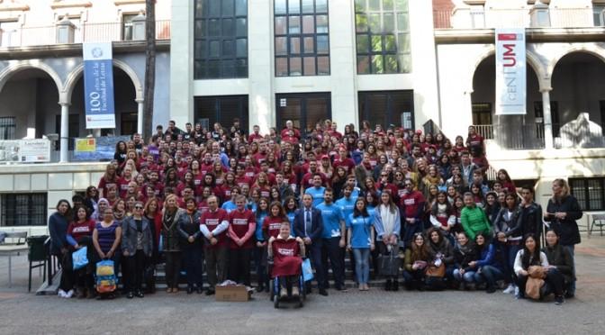 Recepción a los estudiantes internacionales del segundo cuatrimestre