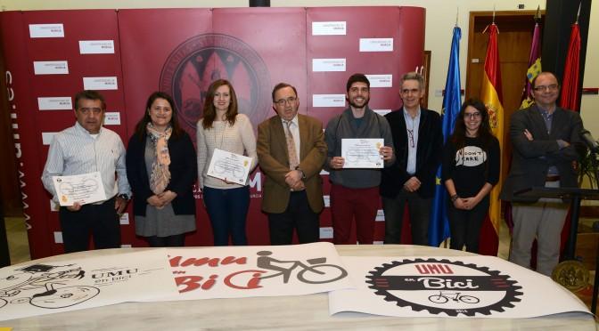 La asociación para el uso de la bicicleta en la Universidad de Murcia ya cuenta con logotipo