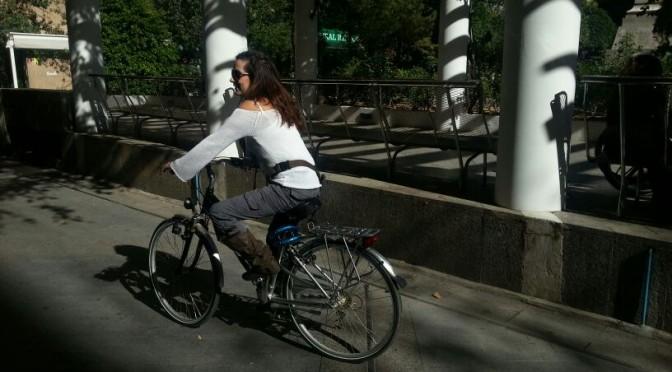 Recorrido en bicicleta al Campus Espinardo