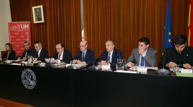 Las universidades públicas de la Región firman con los sindicatos el convenio colectivo del profesorado contratado