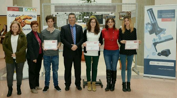 La Universidad de Murcia entrega los premios de los concursos de carteles y fotoperiodismo científico