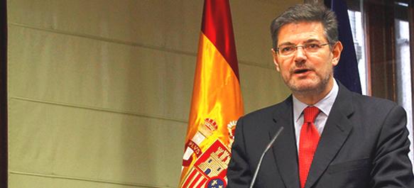 """""""El derecho debe acompañar la transformación social"""" (Rafael Catalá, Ministro de Justicia en funciones)."""
