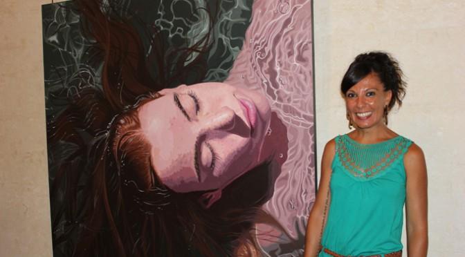 Las obras premiadas en el XII Certamen Internacional de Pintura Toledo Puche, en la Biblioteca General María Moliner