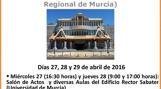 III Torneo Nacional Interuniversitario de Debate Parlamentario UMAR (Universidad de Murcia – Asamblea Regional de Murcia)