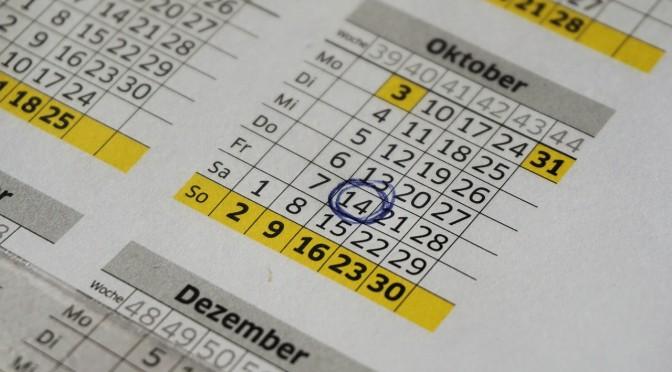 Se publica el calendario académico del próximo curso
