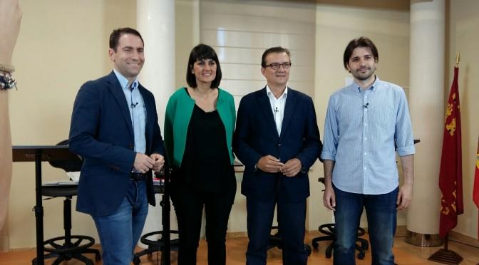 Los políticos debaten en la Universidad de Murcia