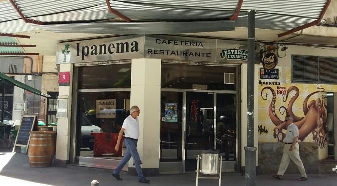 La cafetería Ipanema cierra sus puertas