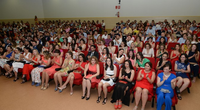 Graduación del Grado en Educación Primaria (Mención en  Necesidades Específicas de Apoyo Educativo)