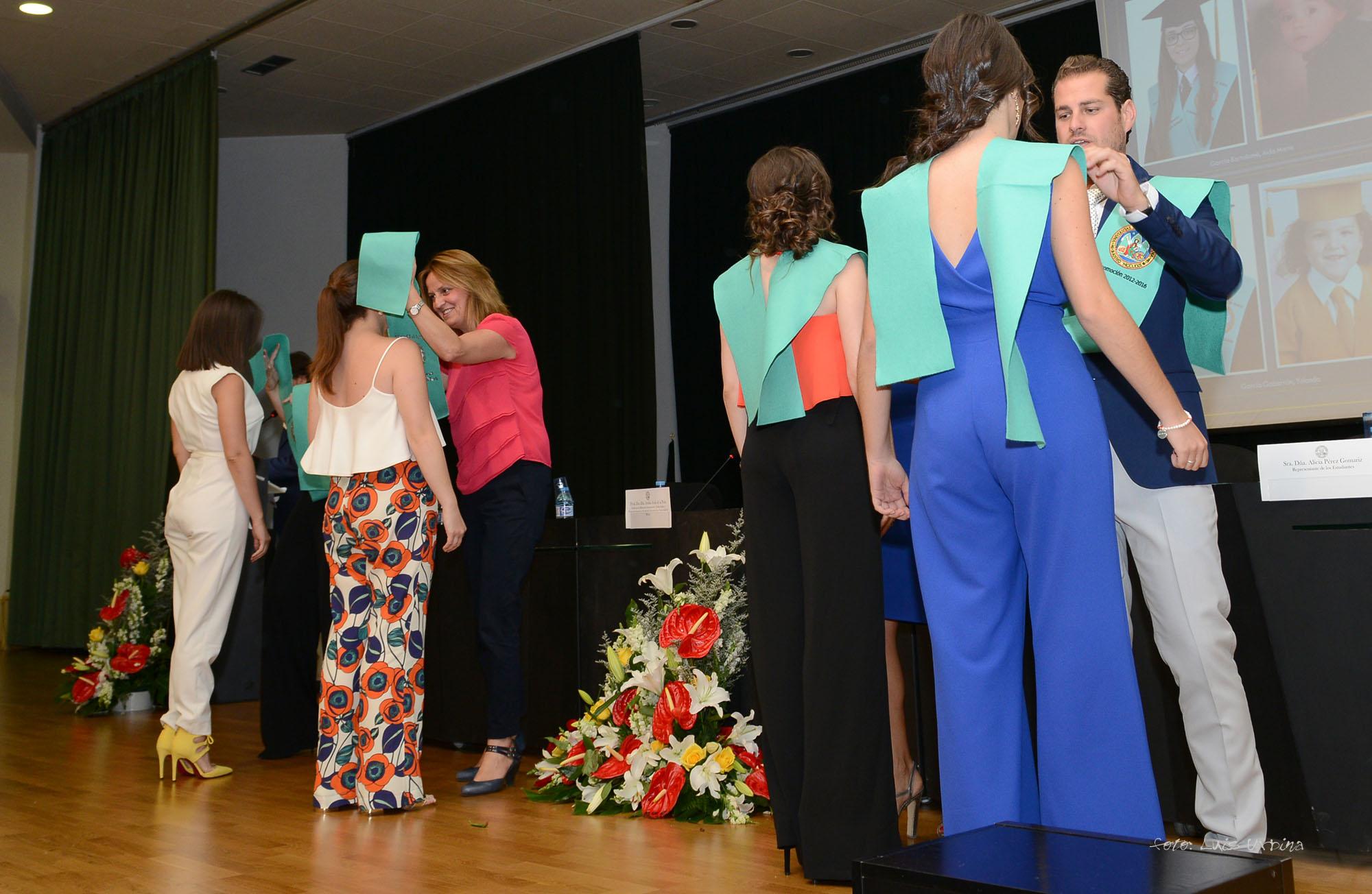 Graduación de la IV Promoción del Grado en Educación Infantil (Grupo 2)