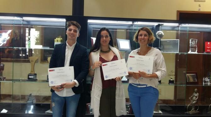 Entrega de premios del I Concurso de relato corto de la UMU sobre las mujeres