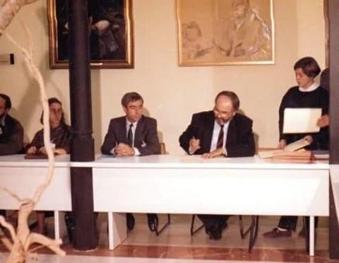 De cuando rectores de una docena de países fundaron en la Universidad de Murcia el Grupo Santander