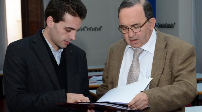 Domingo A. Sánchez, presidente del CEUM, elegido como secretario del XVI Aula de Verano Ortega y Gasset de la UIMP