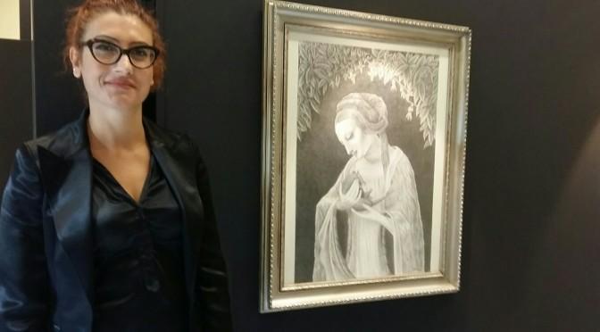 Gabriela Amorós expone su Estuario Rojo en el Rectorado de la Universidad de Murcia
