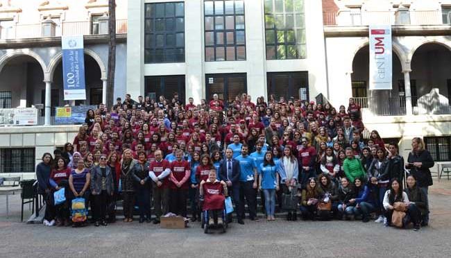 Un millar y medio de estudiantes participarán este curso en programas de movilidad de la UMU
