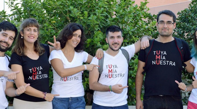 La Universidad de Murcia busca foto con eslogan