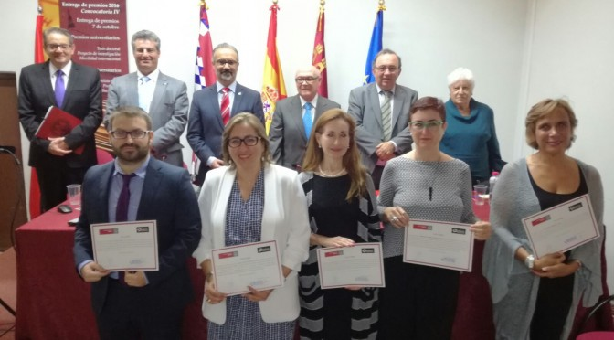 La Fundación Robles Chillida galardona a la UMU por su investigación en Ciencias de la Salud