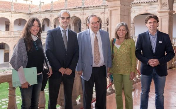 Los rectores de la Universidad de Salamanca y de Murcia inauguran las Jornadas del Deporte Universitario