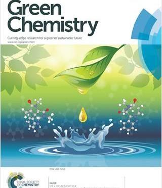 Un artículo de la UMU, portada en revista líder de Química Verde