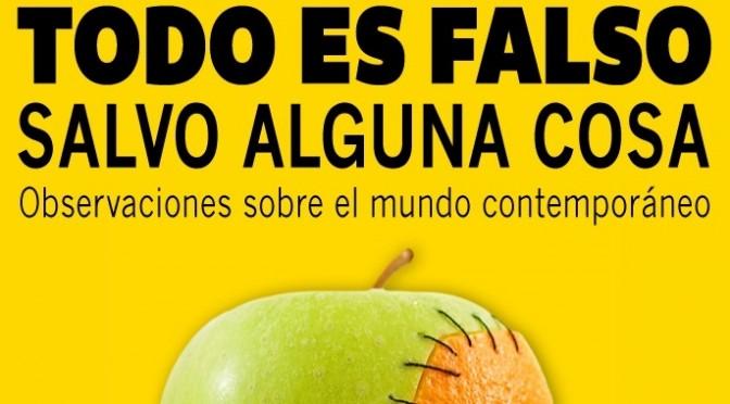"""Justo Serna presenta en la UMU su libro """"Todo es falso salvo alguna cosa"""""""