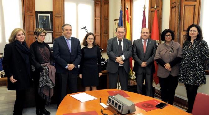 Firmado un convenio entre la UMU y el ayuntamiento de Cieza para crear una Sede Permanente en Cieza