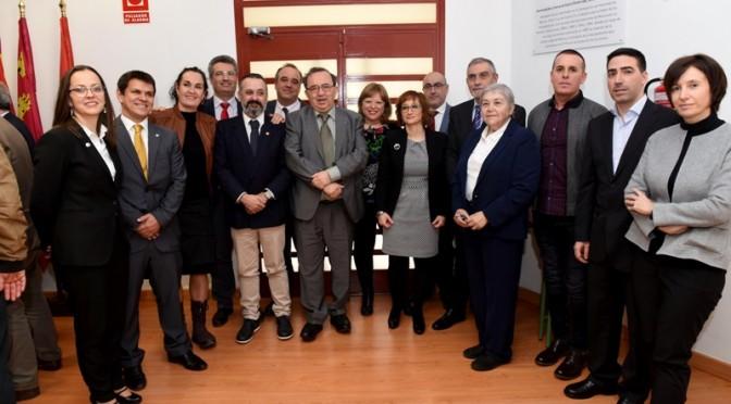 Toma de posesión de 12 profesores y profesoras de la Universidad de Murcia