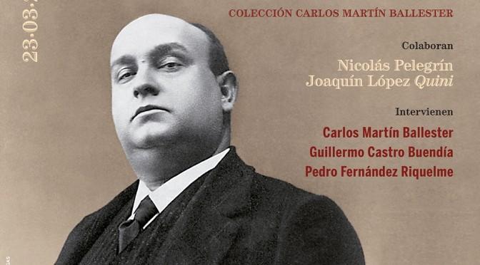 Se presenta en la UMU un libro-disco sobre Antonio Chacón, la mayor figura del flamenco