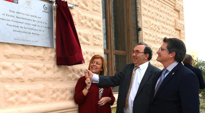 Puesta en marcha la Cátedra Poncemar de Gerontología en Lorca