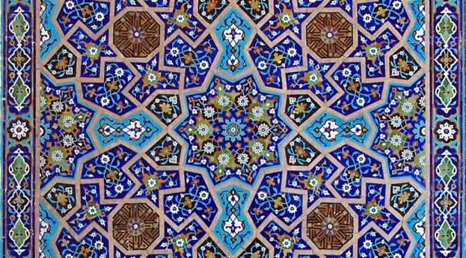 La belleza de la geometría islámica, en una exposición en la Universidad Politécnica de Cartagena