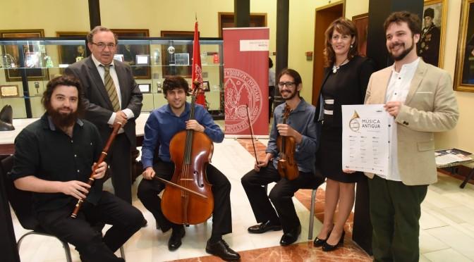 La UMU presenta una programación internacional en torno a la Música Antigua