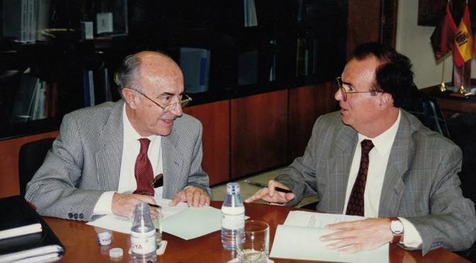 El Presidente de la Región de Murcia antes de ser Región, visita la Convalecencia