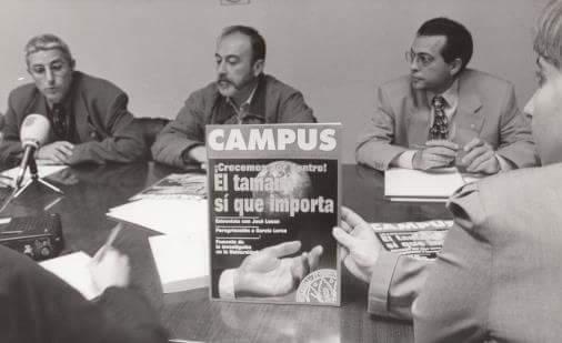 La revista Campus se convierte decana de la prensa universitaria española