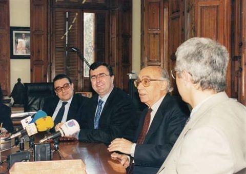 Saramago en la Universidad de Murcia, antes y después del Nobel
