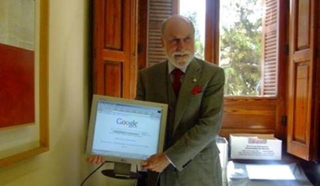 El día en que el inventor de Internet visitó la UMU