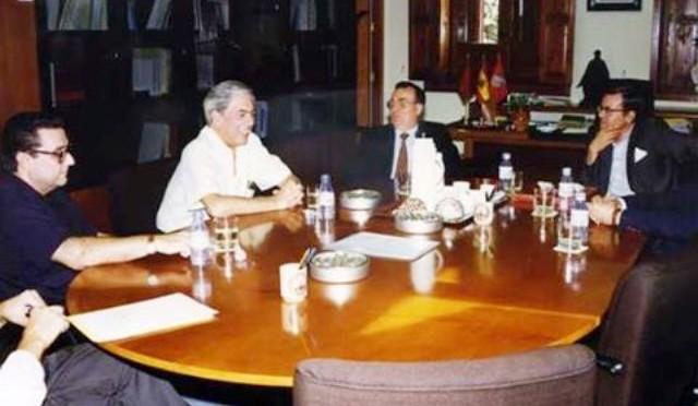 Los cuatro viajes de Vargas Llosa a la UMU