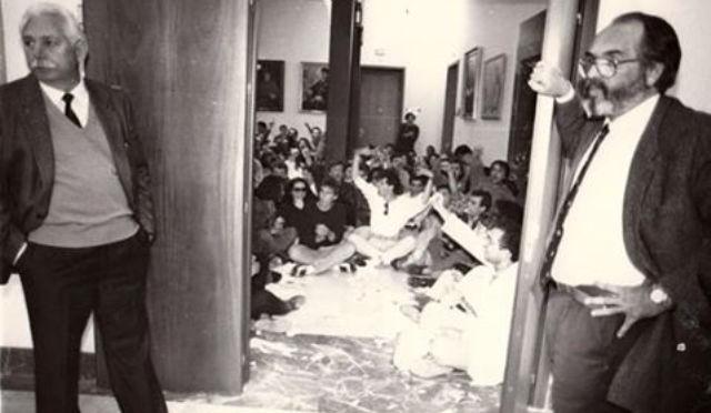 El día en el que las reivindicaciones estudiantiles se colaron en la Convalecencia