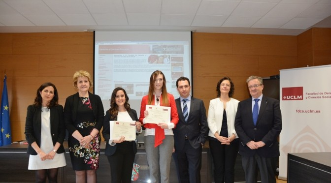 El trabajo de una titulada de Derecho de la UMU, premiado por el Colegio Notarial de Castilla-La Mancha