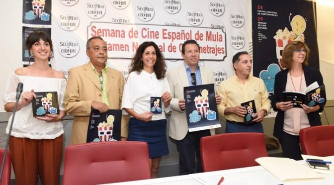 La Semana de Cine de Mula homenajea a Simón Andreu, protagonista de casi un centenar y medio de películas