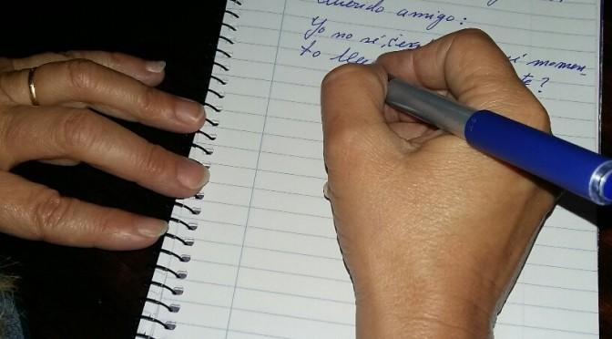La UMU imparte un taller de escritura sobre la carta manuscrita