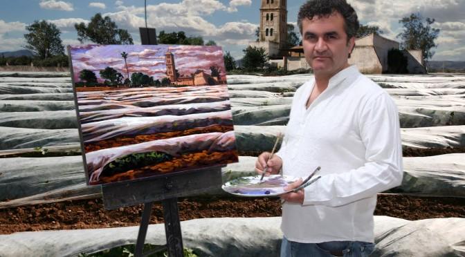 """Javier Lorente expone """"Coexistencia"""" en la Biblioteca María Moliner de la UMU"""
