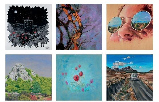 Los paisajes de Moratalla, pintados por 45 alumnos de Bellas Artes de la UMU