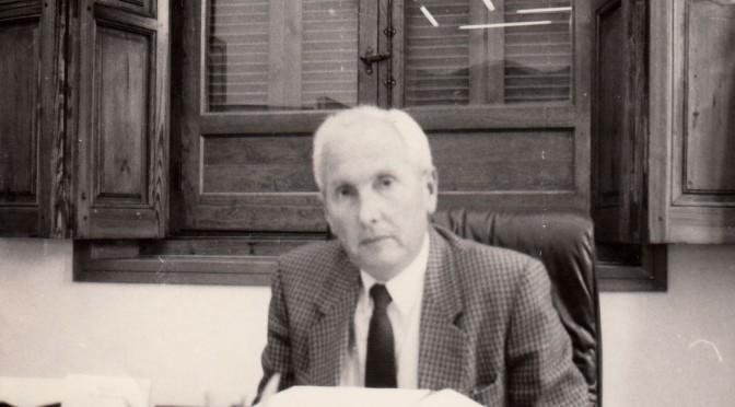 1987-94 José Mº Aroca Ruiz Funes, Presidente del Consejo Social Foto Pascual Vera