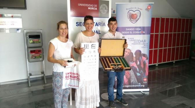 La Facultad de Óptica y Optometría de la UMU colabora para mejorar la visión de escolares senegaleses