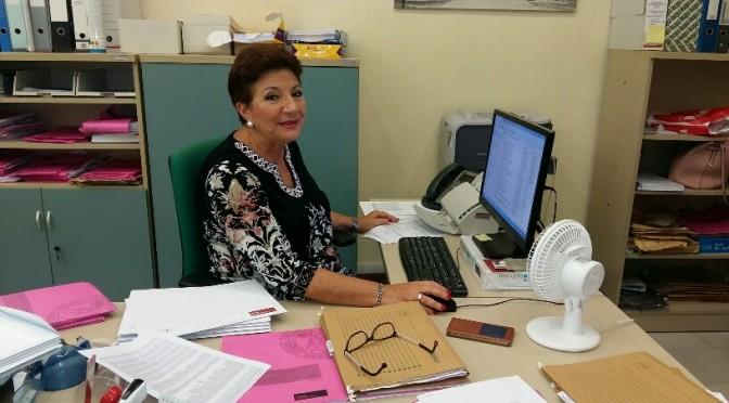 Pepa Ortuño: una secretaria enamorada de su trabajo