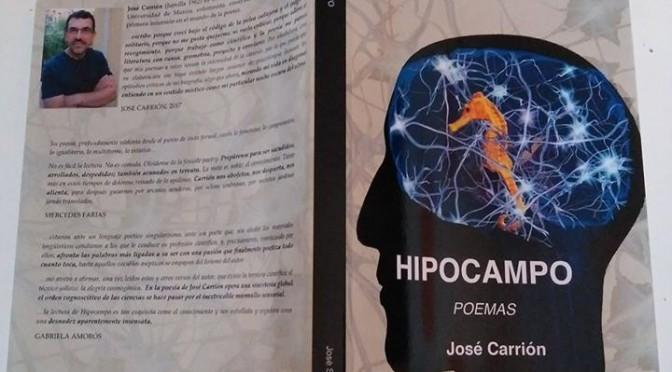 """Se presenta en la facultad de Letras de la UMU el poemario """"Hipocampo"""", del profesor José Carrión"""