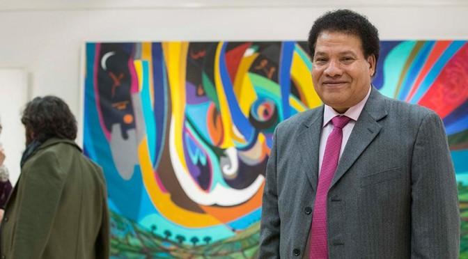 """El profesor de la UMU Yehia Joussef Ramadan expone su muestra """"Inspiración"""", evocadora del mundo egipcio"""